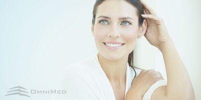 OmniMed Glowing Skin Behandlung Haut Volite PRP Dermaroller