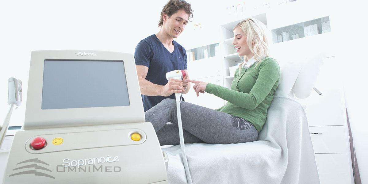 OmniMed Laserenthaarung Fragen und Antworten