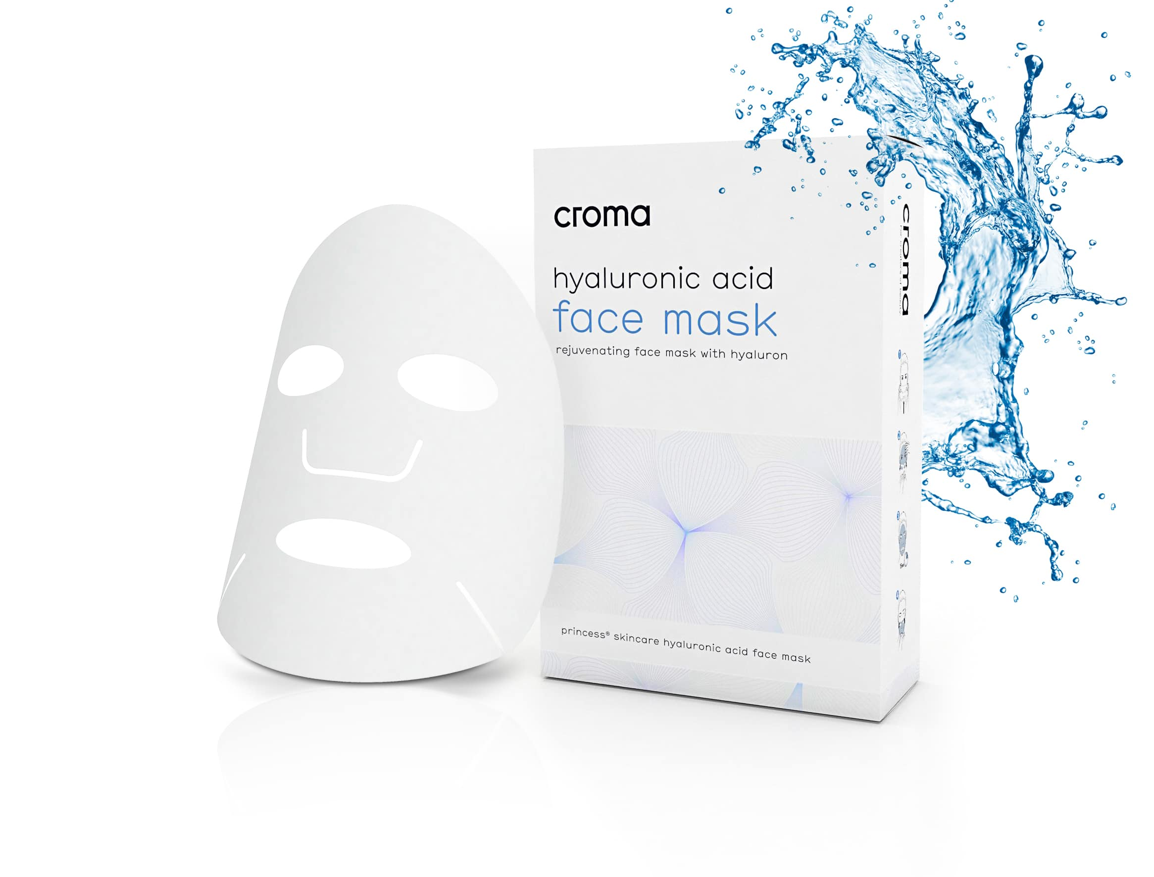 Hautverjüngende Gesichtsmaske mit Hyaluron