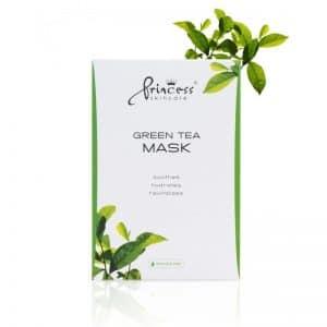 Princess Skincare Gesichtsmaske Green Tea 8 Stück / Packung