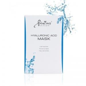 Princess Skincare Gesichtsmaske Hyaluronic 8 Stück / Packung
