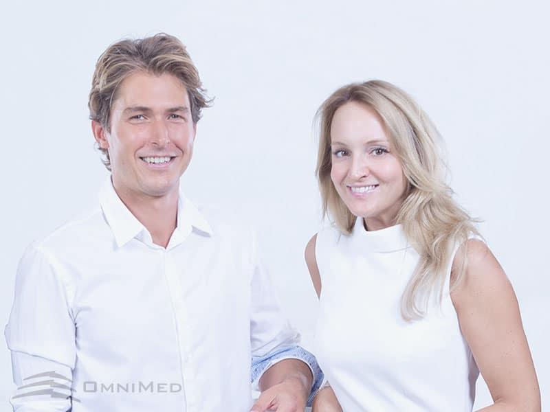 Dr. Stefan Horwath und Dr. Martina Reichhart von OmniMed