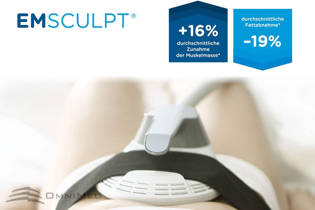 EMSCULPT®: Die medizinische Innovation für Muskelaufbau & Fettreduktion in einer Behandlung!