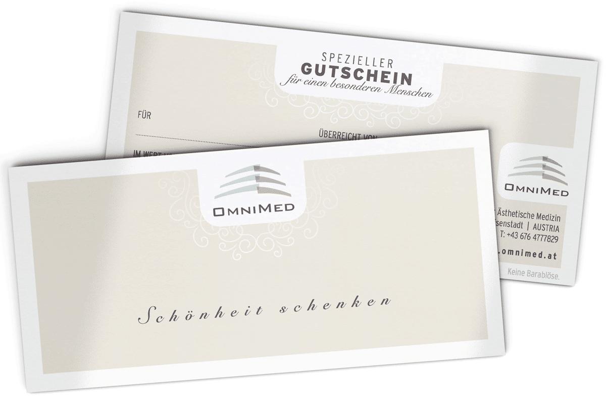 Produkte & Gutscheine im OmniMed Onlineshop kaufen