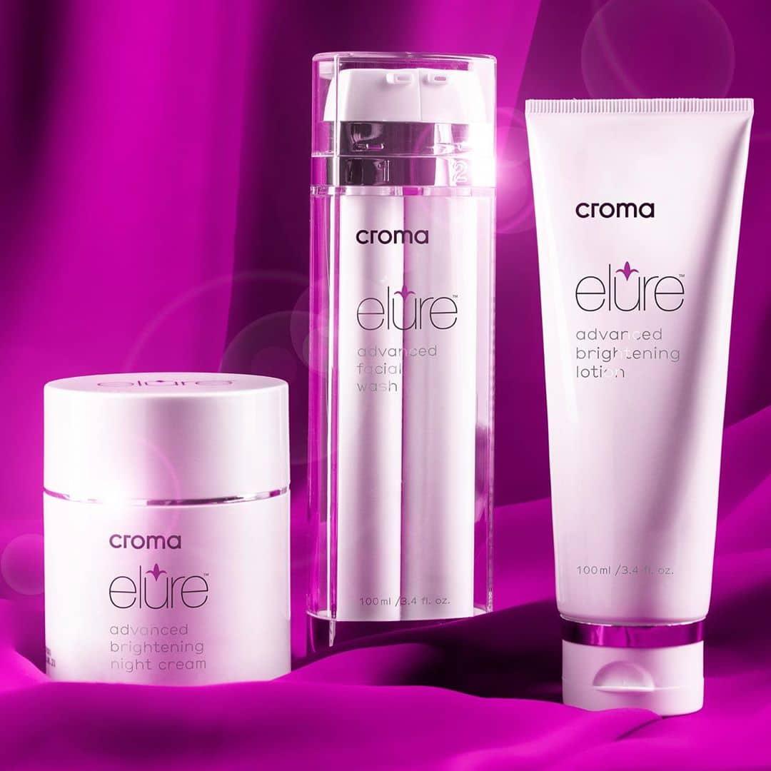 elure Skincare gegen Pigmente