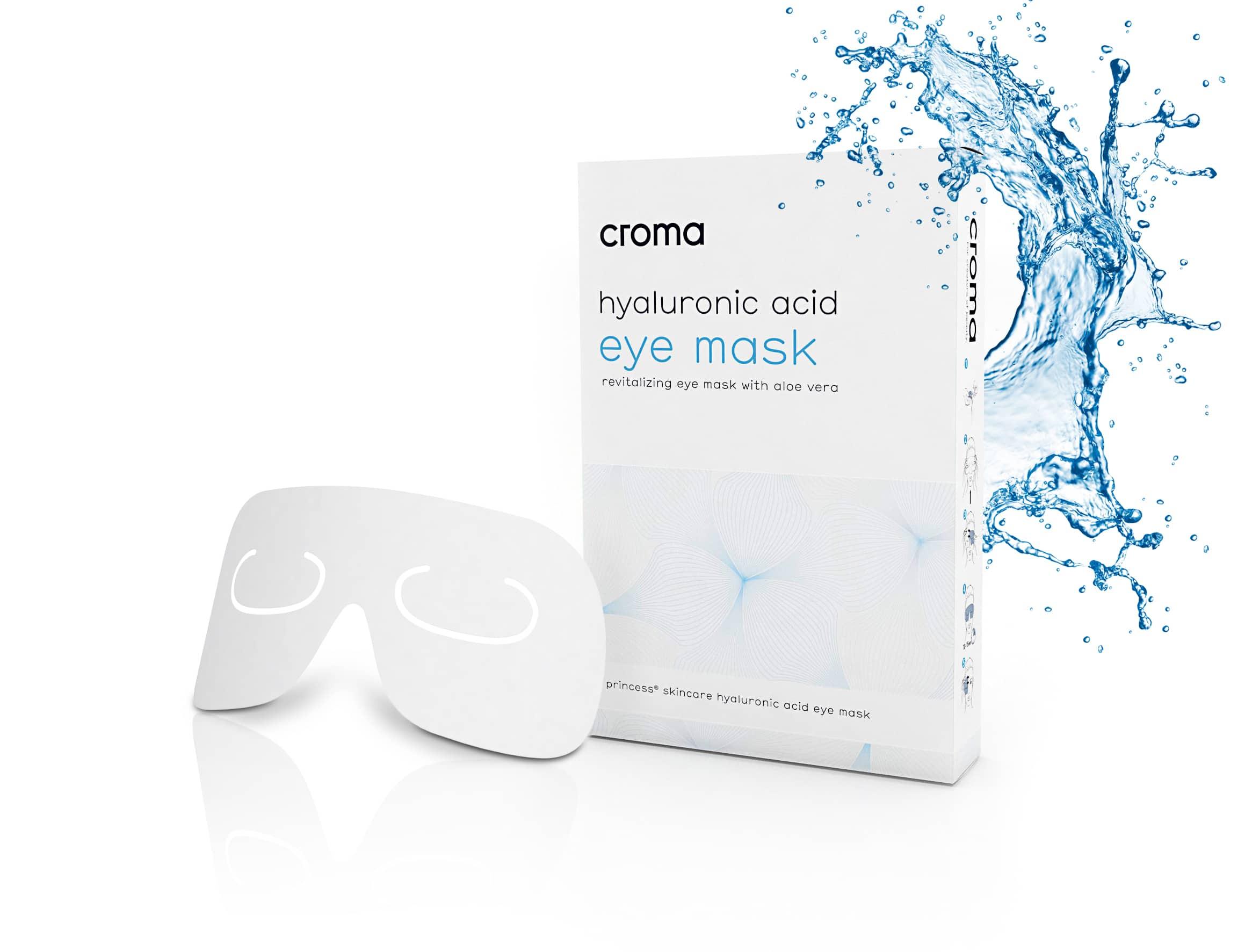 Revitalisierende Augenmaske mit Aloe Vera