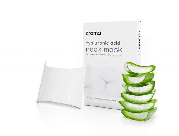 Anti-Aging Halsmaske mit Aloe Vera