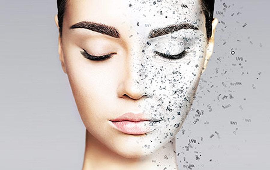 Atmosphärische Hautalterung